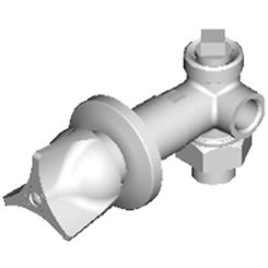 Click here to see Chicago Faucet 1769-HOTABCP Chicago Faucets 1769-HOTABCP Hot Water Concealed Angle Bypass Valve