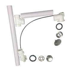Click here to see Kohler 7213-BN Kohler K-7213-BN Clearflo Cable Bath Drain With PVC Pipe, Brushed Nickel