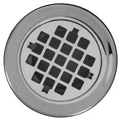 Click here to see Kohler 9132-CP Kohler K-9132-CP Shower Drain w/ Grid Strainer, Polished Chrome