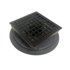 Click here to see Kohler 9136-2BZ Kohler K-9136-2BZ Square Tile-In Shower Drain, Oil Rubbed Bronze