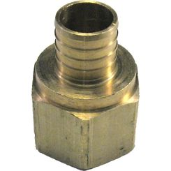 Click here to see   1 Inch PEX Female Adapter, Brass Construction