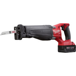 Click here to see Milwaukee 2720-21 Milwaukee 2720-21 M18 Fuel SAWZALL Reciprocating Saw Kit