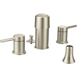 Click here to see Moen T5191BN Moen T5191BN Align Brushed Nickel Two-Handle Bidet Faucet