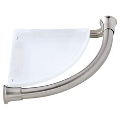 Click here to see Delta 41416-SS Delta 41416-SS Corner Shelf/Assist Bar - Stainless Steel