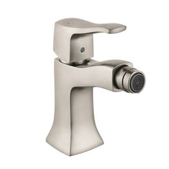 Click here to see Hansgrohe 31275821 Hansgrohe 31275821 Metris C One Hole Bidet Faucet, Brushed Nickel