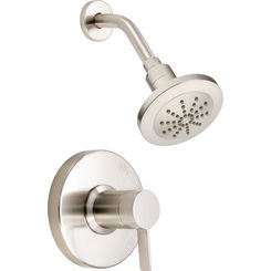 Click here to see Danze D501530BNT Danze D501530BNT Amalfi Single Handle Shower Trim Kit - Brushed Nickel