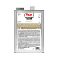 Click here to see Oatey 31016 1 Gallon Clear Pvc Cement