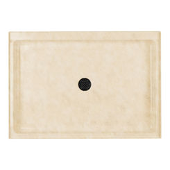 Click here to see Swanstone SF03448MD.129 Swanstone SS-3448-129 Single Threshold Shower Floor, 34