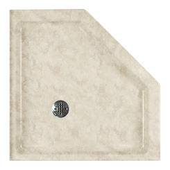 Click here to see Swanstone SN00036MD.129 Swanstone SS-36NEO-129 Neo-Angle Shower Floor, 36
