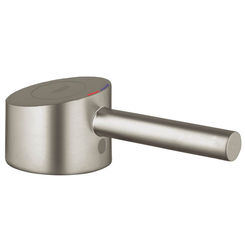 Click here to see Grohe 46594EN0 Grohe 46594EN0 Lever Handle, Brushed Nickel