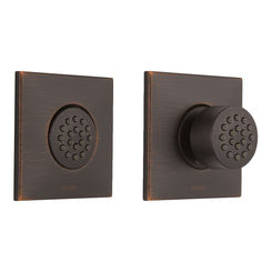 Click here to see Brizo T84913-RB Brizo T84913-RB Venetian Bronze HydraChoice Square Body Spray Trim