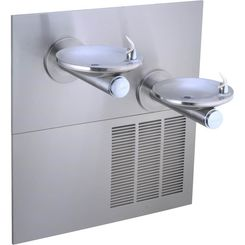 Click here to see Elkay EZWS-ERPBM28K Elkay EZWS-ERPBM28K ezH2O Bottle Filler w/ Integral SwirlFlo Fountain - Refrigerated, Non-Filtered, Stainless