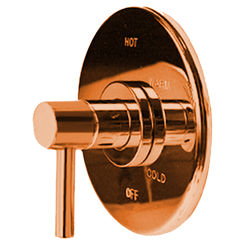 Click here to see Newport Brass 4-1504BP/08A Newport Brass 4-1504BP/08A EAST LINEAR Antique Copper Pressure Balance Valve Only Trim
