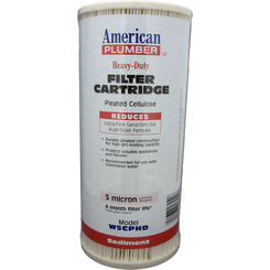Click here to see American Plumber W5CPHD American Plumber W5CPHD 155184-51 5 Micron Filter
