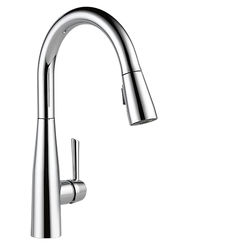Click here to see Delta 9113-DST Delta 9113-DST Chrome Single Handle Pulldown Kirchen Faucet