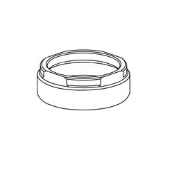 Click here to see Delta RP78353 Delta RP78353 Bonnet Nut, Chrome