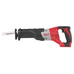 Click here to see Milwaukee 2621-20 SAWZALL 2621-20 Cordless Cordless Reciprocating Saw, 18 V, M18, 1-1/8 in Stroke, 0 - 3000 spm