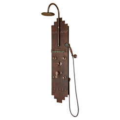 Click here to see Pulse 1018 Pulse 1018 Navajo ShowerSpa Hammered Copper, Oil-Rubbed Finish