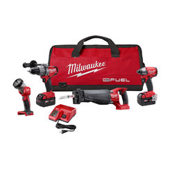 Click here to see Milwaukee 2896-24 Milwaukee 2796-24 Cordless Combo Tool Sets