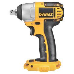 Click here to see Dewalt DC820B Dewalt DC820B Heavy Duty Impact Wrench, 18 V, Li-Po, Ni-Cd
