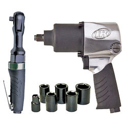 Click here to see Ingersoll-Rand 2317G Ingersoll-Rand Edge Pro 2317G Air Impact Wrench Kit, 3/8 in, 3 cfm, 90 psig, 1/4 in NPT