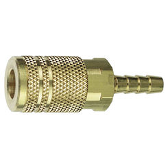 Click here to see Plews 13-264 Plews/Edelmann 13-264 Hose Coupling, 1/4 in, Barb, 300 psi, Brass