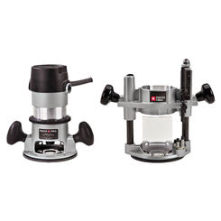 Click here to see Porter-Cable 693LRPK Porter-Cable 693LRPK Round Multi-Base Corded Router Kit, 120 VAC, 11 A, 1-3/4 hp, 27500 rpm