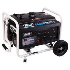 Click here to see Pulsar PG6000 Pulsar PG6000 Portable Generator, 120/240 V, 42 A A, 5000/6000 W, 302 cc