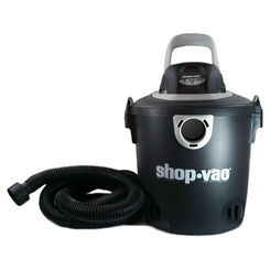 Click here to see Shop-Vac 2030400 Shop-Vac 5940400 Wet/Dry Corded Vacuum, 120 VAC, 7.5 A, 2 hp, 5 gal Tank, 123 cfm