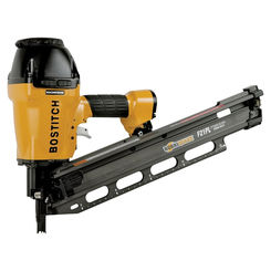 Click here to see Stanley F21PL2 Stanley F21PL2 Angled Framing Nailer, 60 Nails, 2 - 3-1/2 in Plastic Full Round Collated Nail