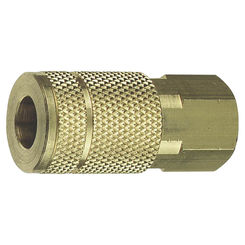 Click here to see Tru-Flate 13-611 Tru-Flate 13-611 Air Line Coupler, 1/4 in, FNPT, 300 psi, Steel