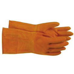 Click here to see Boss 4708L Boss 4708L Large Orange Diamond Grip Latex Gloves