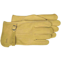 Click here to see Boss 6023M Boss 6023M Driver Gloves, Medium, Premium Grain Leather, Gold, Unlined Lining
