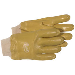 Click here to see Boss 930 Boss 930 Smooth Texture Protective Gloves, Large, Single Dipped PVC, Brown
