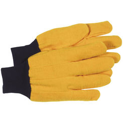 Click here to see Boss 4037 Boss Mfg 4037 Gloves, Chore, 2-Ply, Yellow, Large