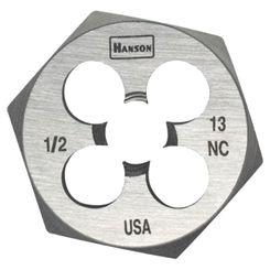 Click here to see Irwin 8465 Hanson 8465 Machine Screw Hexagonal Die, NO 1-8 NC, 1-13/16\