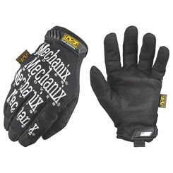 Click here to see Mechanix MG-05-010 MECHANIX MG-05 Mechanic Gloves, Size 10, Large, Clarino Synthetic Leather, Black