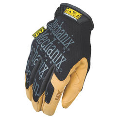 Click here to see Mechanix MG4X-75-010 MECHANIX MG4X-75 Mechanic Gloves, Size 10, Large, Material4X Synthetic Leather, Brown/Black