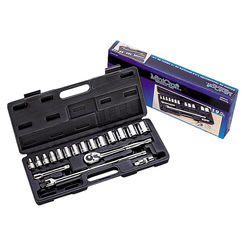 Click here to see Mintcraft TS10193L Mintcraft TS10193L Socket Wrench Sets, 19-Piece, 1/2In Drive, SAE
