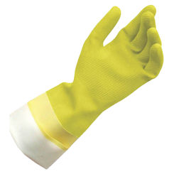 Click here to see Quickie 12142TRIRM Quickie 12142TRIRM Gloves, Yellow Latex, Large