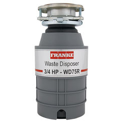 Click here to see Franke WD75RC Franke WD75RC 3/4HP Disposer Disposer - Disposer