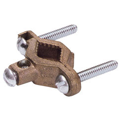 Click here to see Erico CWP1J Eritech CWP1J Grounding Pipe Clamp, 1/2 - 1 in, Silicone Bronze