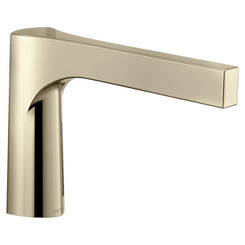Click here to see Delta RP84828PN Delta RP84828PN Polished Nickel Roman Tub Spout - 3 Hole