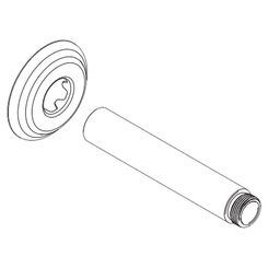 Click here to see Plumb Pak 620APVC Plumb Pak 620APVC Lift 'N Turn Bath Drain Assembly With Pipe and Tee, 1-1/2 in