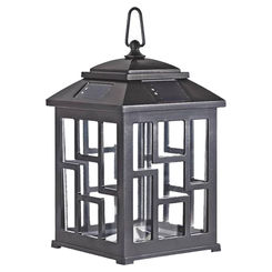 Click here to see Boston Harbor QT2C-P3-PG-F1 Boston Harbor QT2C-P3-PG-F1 Table Lamp Solar Light, 12.6 in H, Metal/Pearl Gray