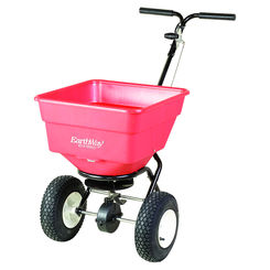 Click here to see Earthway 2170SU Ev-N-Spred 2170SU Commercial Push Broadcast Spreader, 100 lb, 3350 cu-in, Grass, Seed, Fertilizer