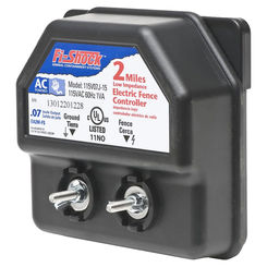 Click here to see Fi-Shock EA2M-FS Fi-Shock EA2M-FS Low Impedance AC Powered Electric Fence Charger, 110 - 120 VAC Input, 0.07 j
