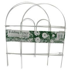 Click here to see Glamos 777009 Glamos Wire 777009 Garden Fences, Folding, White
