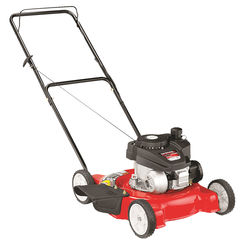 Click here to see MTD 11A-02SB700 Yard Machines 11A-02SB700 Lawn Mower, 20 in W x 1-1/4 to 3-3/4 in H Cutting, 140 cc 4-Cycle OHV Engine, 0.8 qt Gas