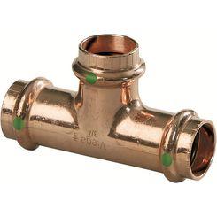 Click here to see Viega 77412 Viega 77412 ProPress 1-Inch Copper Tee, Smart Connect, Zero Lead